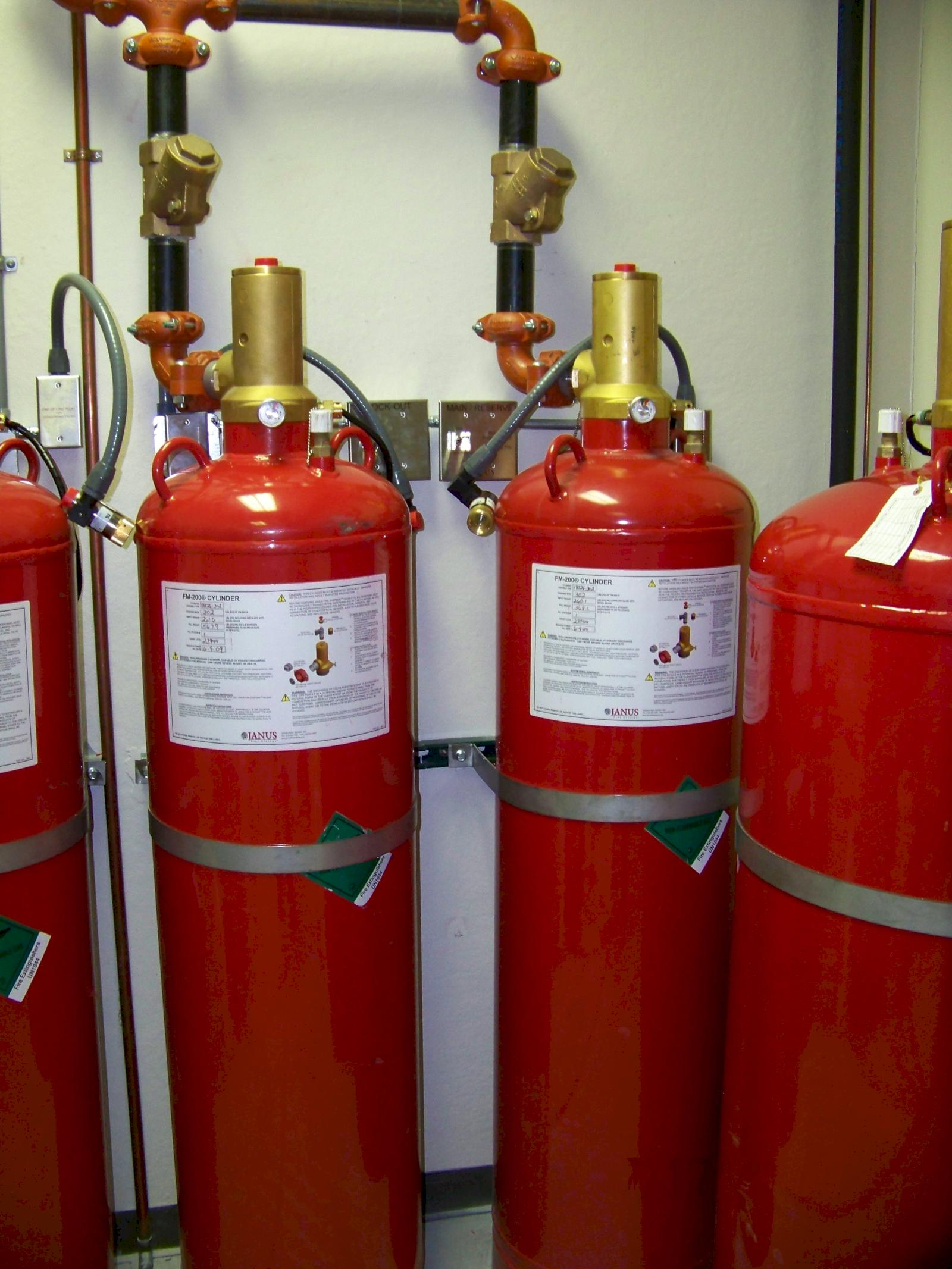 Fm 200 Suppression Systems Janus Fire Systems